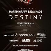 Martin Graff Eva Kade Destiny Album Progresja Music Zone 10/09/2016 – Warszawa