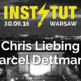 INSTYTUT w/ Marcel Dettmann, Chris Liebing, Michael Mayer, Stimming LIVE & many more