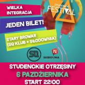 Otrzęsinowy Studencki Czwartek w Starym Browarze!