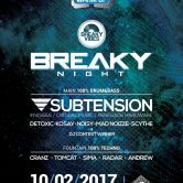 Breaky Night with Subtension | LiR Winter Warm Up at Sfinks700