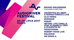 Solomun, Metrik i Moodymann na Audioriver 2017