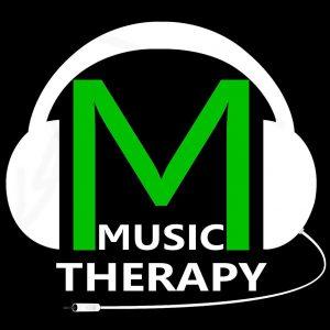 logo Music Therapy tło