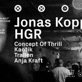 Tresor Showcase z Jonasem Koppem i HGR na Smolnej