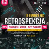 Retrospekcja 13 Summer End Edition –  Klubowy powrót do lat 2000-2005 Mixtura Music Club 3.09.2017