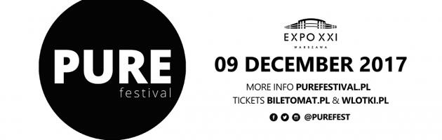 Faithless z dj setem pierwszym headlinerem PURE Festival.