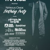 WE LOVE TRANCE CLUB EDITION 027 – NITROUS OXIDE B-DAY PARTY 27.01.2018 Club Chic Poznań
