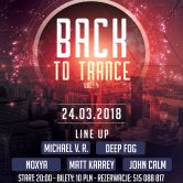 Back To Trance voL.4, kLub Sofa (2018.03.24)