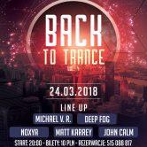 Back To Trance voL.4, kLub Sofa (2018.03.24)