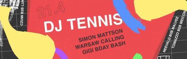 DJ Tennis wystąpi na Smolnej
