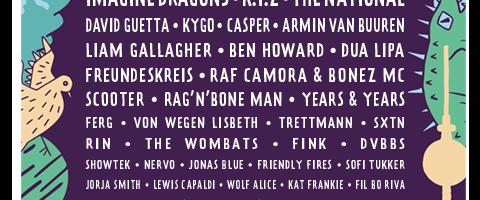 Lollapalooza Berlin czyli weekend w stolicy Niemiec z The Weeknd, Kraftwerk 3D, Imagine Dragons, The National i innymi artystami!