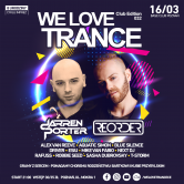 WE LOVE TRANCE CLUB EDITION 032 WITH DARREN PORTER & REORDER 16.03.2019 Base Club Poznań