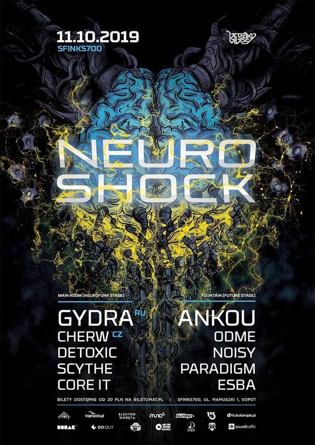 Neuroshock with Gydra | Sfinks700