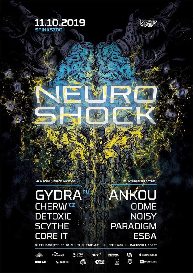 Neuroshock with Gydra | Sfinks700