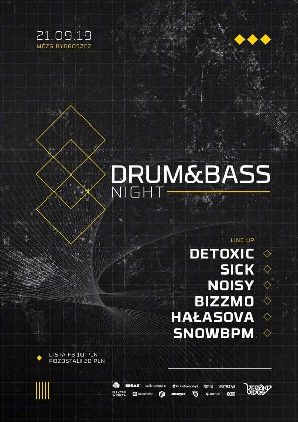 Drum&Bass Night  | MÓZG, Bydgoszcz